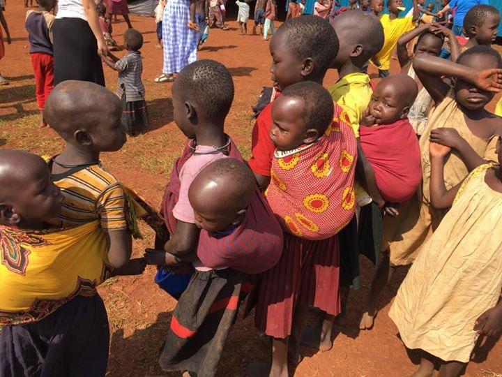 Children carrying Children